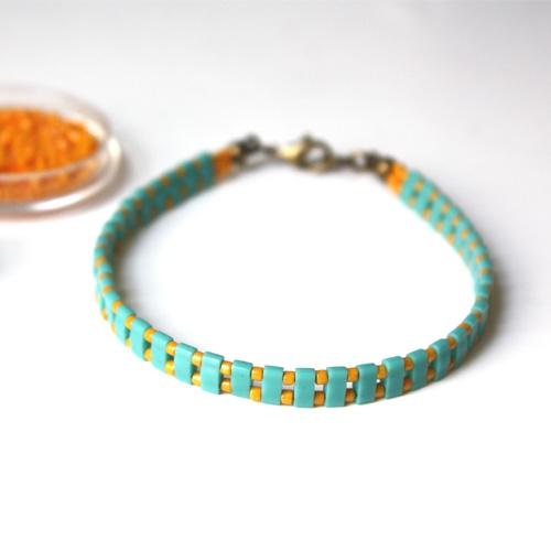 Bracelets Half Tila matiere premiere