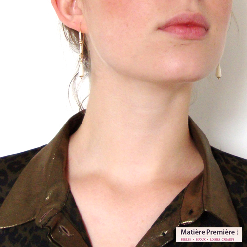 Boucles d'oreilles Vermeer