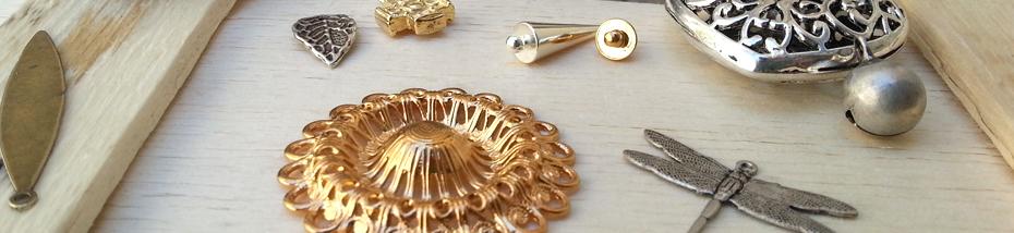 Perles en métal Matière Première